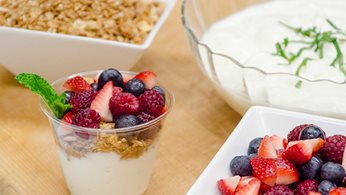 Cold Breakfast Selections - Build-your-own Breakfast Parfait