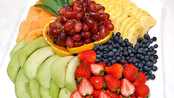 Fruits, Vegetables & Cheeses - Fresh Fruit Platter