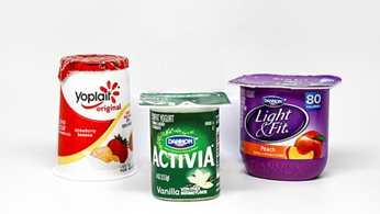 Cold Breakfast Selections - Assorted Fruit Yogurts