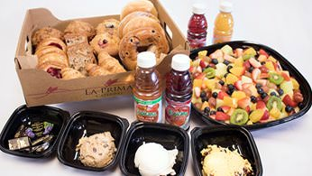 Traditional Continental Favorites - Continental Breakfast Selection #1 with Bagels