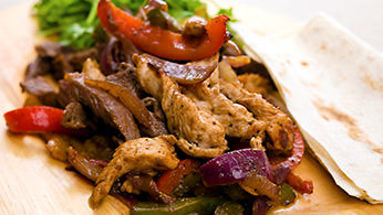 Hot fajitas