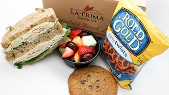 Sandwich boxed lunch with choice of 3 sides