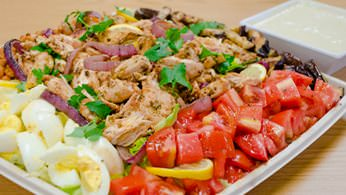Entrée Salads and Platters - Mediterranean Chicken Salad