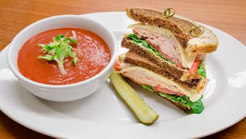Combination Meals - Soup and Assorted Sandwich Combination