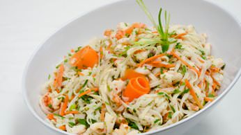 Entrée Salads and Platters - Glass Noodle Salad