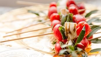 Additional Hors D'oeuvres - Caprese Skewers