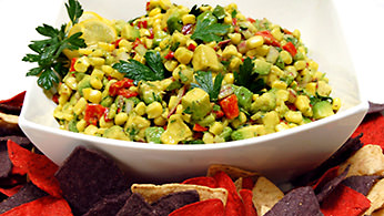 Award-winning avocado corn salsa