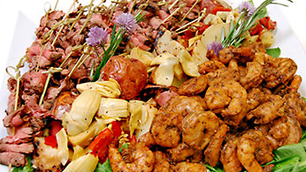 Appetizer Displays - Surf and Turf
