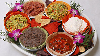 Appetizer Displays - Mexican Fiesta