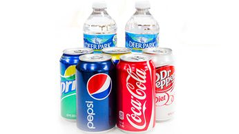 Beverages - Assorted Sodas and Bottled Water