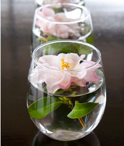 Floating Flower Centerpiece