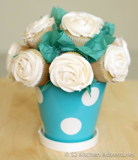 Cupcake Bouquet Centerpiece